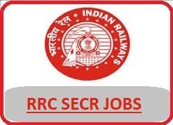 South East Railway Recruitment 2018 Notification - www.secr.indianrailways.gov.in, RRC SECR Bilaspur, RRC South Eastern Central railway recruitment, south eastern central railway jobs 2018